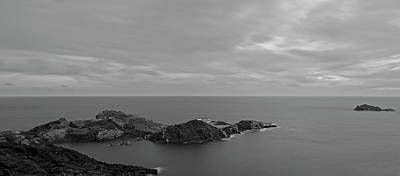 Photograph - Dawn In Black And White In The Cap De Creus by Vicen Photography