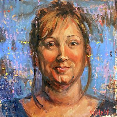 Painting - 116 Angela by Pamela Wilde