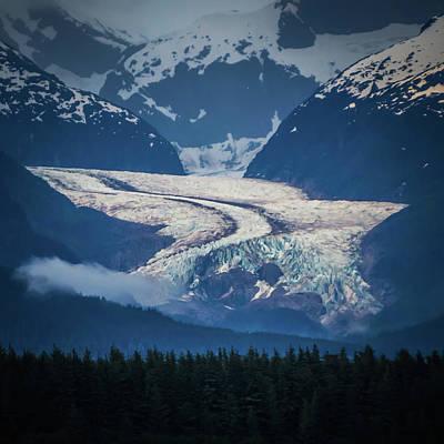 Photograph - Alaskan Vast Landscape During Summer Season In June by Alex Grichenko