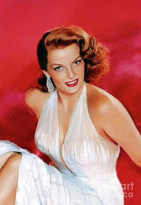 Royalty-Free and Rights-Managed Images - Jane Russell, Vintage Movie Star by John Springfield
