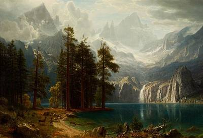 Painting - Sierra Nevada  by Albert Bierstadt