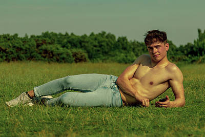 Naked Boys Photograph Sunbathing On A Warm Summers Day By Ben Gingell