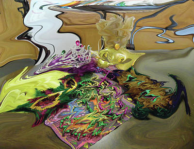 Digital Art - 121618 Mardi Gra Morning by Garland Oldham