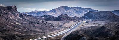 Photograph - Red Rock Canyon Landscape Near Las Vegas Nevada by Alex Grichenko