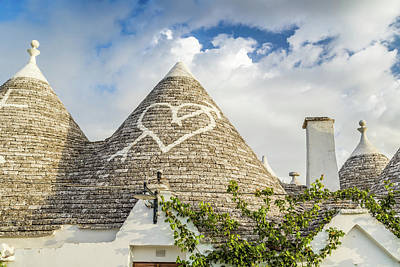 Pittsburgh According To Ron Magnes - The Trulli houses of Alberobello in Apulia in Italy by Vivida Photo PC