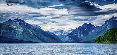 Photograph - Lake Mcdonald Glacier National Park by Alex Grichenko