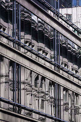 Photograph - Reflective Windows by Robert Ullmann