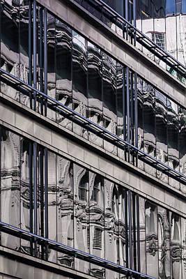 Photograph - Reflective Windows by Robert Ullmann