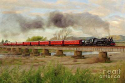 Antlers - Steam Engine, Locomotive, Train by Esoterica Art Agency