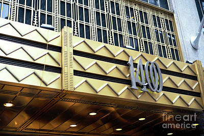 Photograph - 1400 Art Deco Design New York City by John Rizzuto