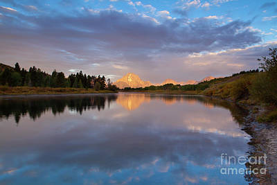 Photograph - 1472 Oxbow Bend Morning by Steve Sturgill