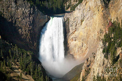 Photograph - 1480 Lower Falls - Yellowstone River by Steve Sturgill