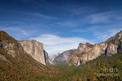 Photograph - 1523 Tunnel View by Steve Sturgill