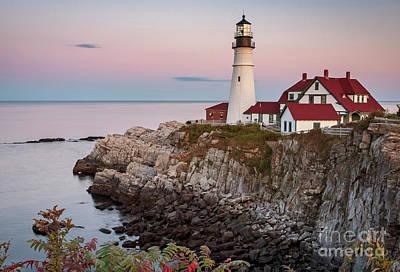 Photograph - 1531 Portland Lighthouse by Steve Sturgill