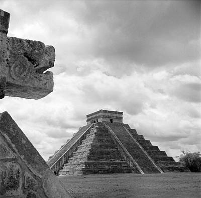 Photograph - Chichen Itza, Mexico by Michael Ochs Archives