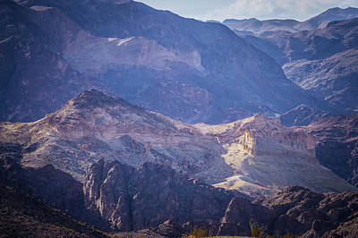Photograph - Red Rock Canyon Landscape Near Las Vegas Nevada by Alex Grichenko