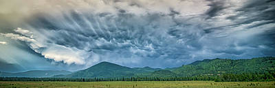 Photograph - Vast Scenic Montana State Landscapes And Nature by Alex Grichenko