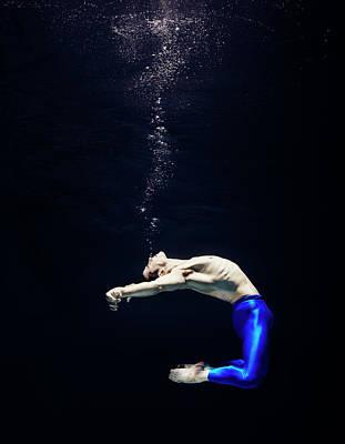 Freedom Photograph - Ballet Dancer Underwater by Henrik Sorensen