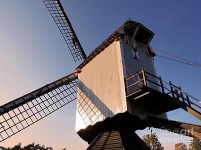 Photograph - 1745 Windmill Sundown by Aapshop
