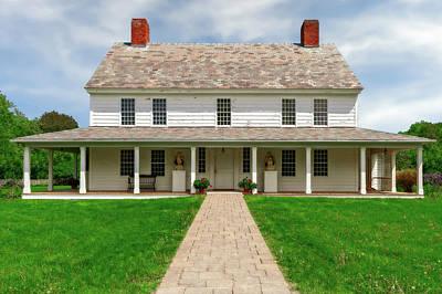 Photograph - 1787 New England Inn  -  1787newenglandinn185664 by Frank J Benz