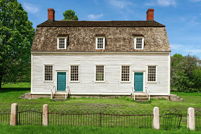 Photograph - 1793 New England Meeting House  -  1793newengmeetinghouse184621 by Frank J Benz