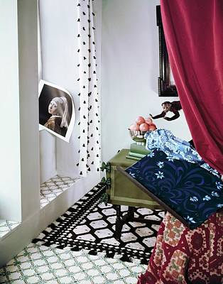 Photograph - 17th Century Style Room by Horst P. Horst
