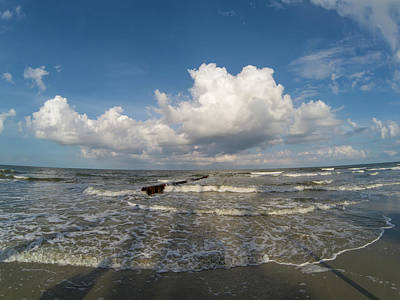 Photograph - Beach Scenes At Hunting Island South Carolina by Alex Grichenko