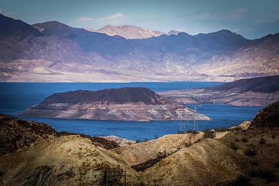 Photograph - Scenes At Lake Mead Nevada Arizona Stateline by Alex Grichenko