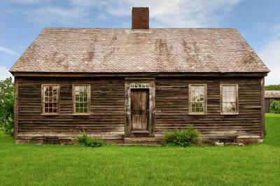 Photograph - 1804 New York Common House  -  1804newyorkcommonhouse185339 by Frank J Benz