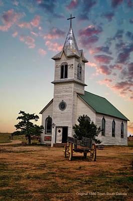 Photograph - 1880 Town South Dakota by Gerlinde Keating - Galleria GK Keating Associates Inc