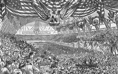 1884 Republican National Convention Art Print by Kean Collection