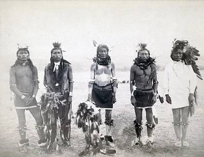Fine Dining - 1890 photo  Western  Native American  Indian  Big Foot by Celestial Images