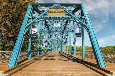 1890 Walnut Street Bridge Chattanooga  -  1890walnutstreetbridgechattanooga137350 Art Print