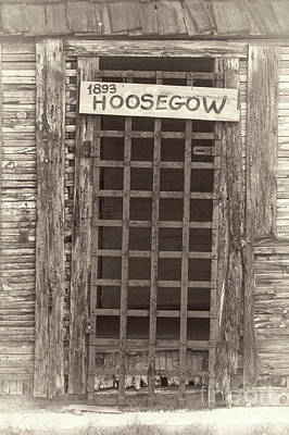 Photograph - 1893 Hoosegow by Imagery by Charly