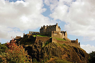 Photograph - 19/08/13 Edinburgh, The Castle. by Lachlan Main