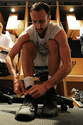Photograph - Miami Heat V San Antonio Spurs - 2014 by Andrew D. Bernstein