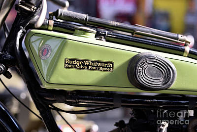Photograph - 1924 Rudge Whitworth IIi by George Atsametakis