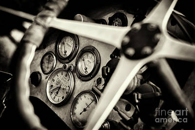 Photograph - 1926 Bugatti T23 Brescia Gauges by Tim Gainey