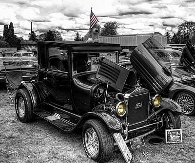 Photograph - 1926 Ford Model T Coupe by Thom Zehrfeld