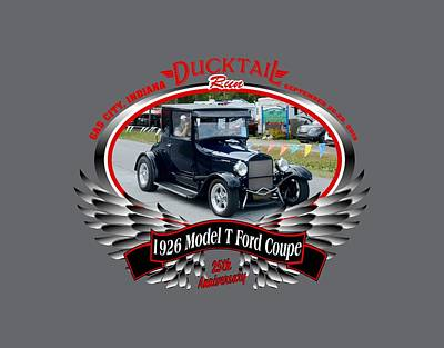 Photograph - 1926 Model T Ford Coupe Weir by Mobile Event Photo Car Show Photography