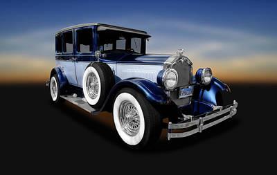 Photograph - 1927 Buick 4 Door Sedan  -  1927buick4doorsedan142077 by Frank J Benz