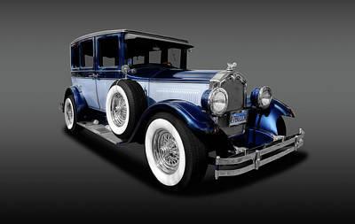 Photograph - 1927 Buick 4 Door Sedan  -  1927fourdoorbuicksedanfa142077 by Frank J Benz