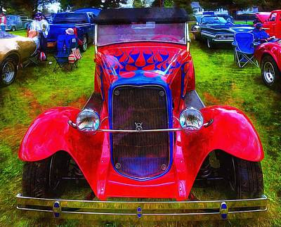 Photograph - 1930 Ford A-bone by Thom Zehrfeld