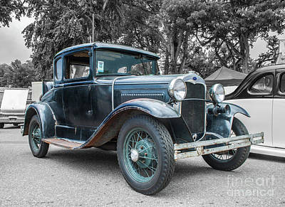 Photograph - 1930 Ford Model A by Tony Baca