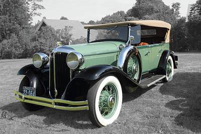 Wall Art - Photograph - 1931 Chrysler by Rik Carlson