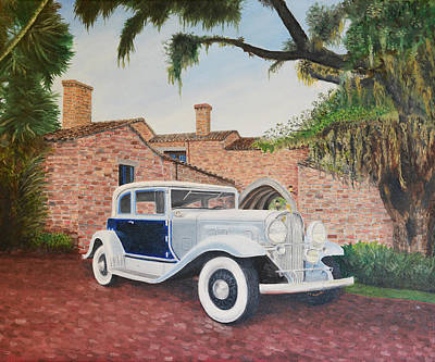 Painting - 1931 Franklin Roadster by Brad Thomas