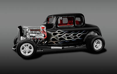 Photograph - 1932 Ford 5-window Deuce Coupe  -  Fivewindow1932fordcoupefa186014 by Frank J Benz