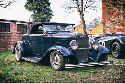 Photograph - 1932 Ford Convertible Custom Car by Tim Gainey