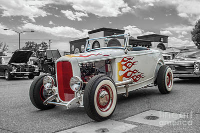 Photograph - 1932 Ford Roadster by Tony Baca