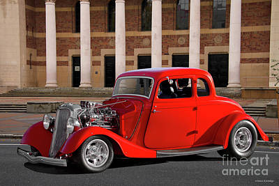 The Beach House - 1933 Ford Five-Window Coupe by Dave Koontz